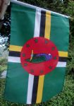 HAND WAVING FLAG - Dominica